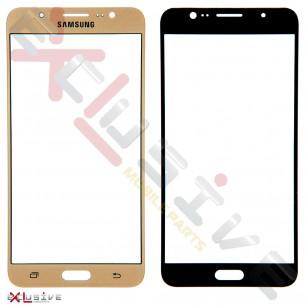 Стекло дисплея Samsung J710 Galaxy J7 2016, Gold