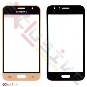 Стекло дисплея Samsung J120 Galaxy J1 2016, Gold