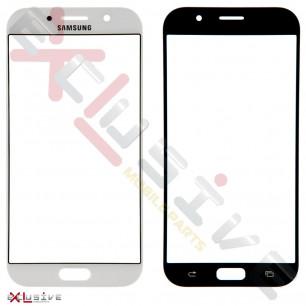 Стекло дисплея Samsung A720 Galaxy A7 2017, White