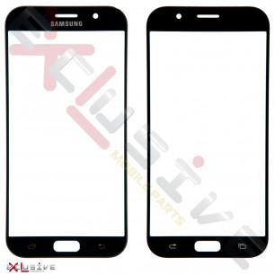 Стекло дисплея Samsung A720 Galaxy A7 2017, Black