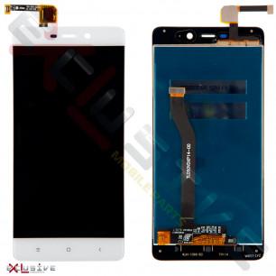 Дисплей Xiaomi Redmi 4 Prime, Redmi 4 Pro, с тачскрином, White