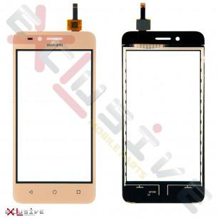 Сенсор (тачскрин) Huawei Y3 II (4G, LTE version) (LUA-L03, LUA-L13, LUA-L21, LUA-L23), Gold