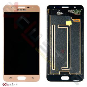 Дисплей Samsung G610 Galaxy J7 Prime, с тачскрином, Original PRC, Gold