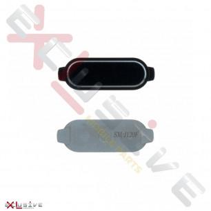 Кнопка Home Samsung J120 Galaxy J1 2016, (пластик), Black