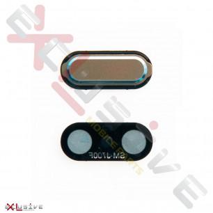 Кнопка Home Samsung J700 Galaxy J7 (пластик), Gold