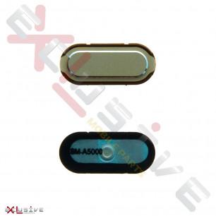Кнопка Home Samsung A300 Galaxy A3, A500 Galaxy A5, A700 Galaxy A7, (пластик), Gold