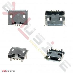Коннектор зарядки Lenovo A316, A316i, A390, 5 pin