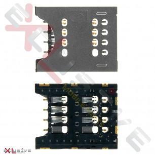 Коннектор SIM-карты Sony Ericsson MK16, ST18i; Sony MT27i Xperia Sola, ST26i Xperia J