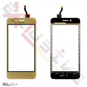Сенсор (тачскрин) Huawei Y3 II (3G version) (LUA-U03, LUA-U22, LUA-U23), Gold