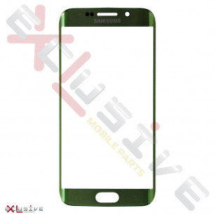Стекло дисплея Samsung G925 Galaxy S6 Edge, Green Emerald