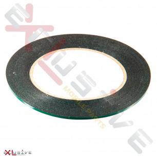 Скотч двусторонний на вспененной основе, ширина 2мм, длина 10м, толщина 0.5 мм