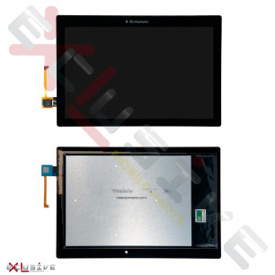 Дисплей Lenovo Tab 2 A10-70F, A10-70L с тачскрином Black