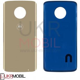 Задняя крышка Motorola XT1926 Moto G6 Plus, Gold