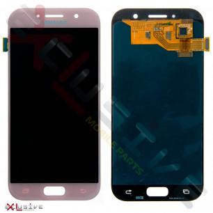Дисплей Samsung A520 Galaxy A5 2017, с тачскрином, OLED, Pink