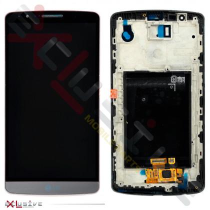 Дисплей LG D855 Optimus G3 с тачскрином, рамкой Black - ukr-mobil.com