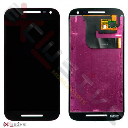 Дисплей Motorola XT1540, XT1541, XT1544, XT1548, XT1550 Moto G3, с тачскрином, Black - ukr-mobil.com