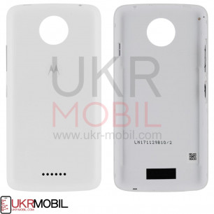 Задняя крышка Motorola XT1723 Moto C Plus, White