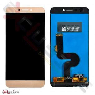 Дисплей LeTV One 1S X500, X501, с тачскрином, Gold