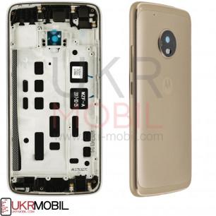 Задняя крышка Motorola XT1685 Moto G5 Plus, Gold