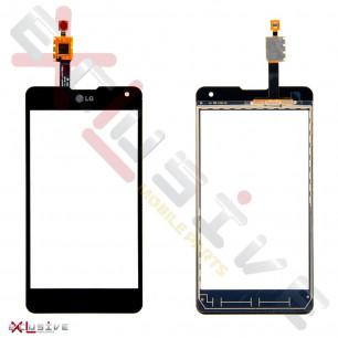 Сенсор (тачскрин) LG E975 Optimus G Black