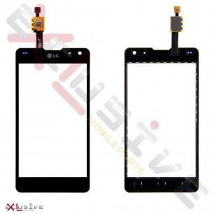 Сенсор (тачскрин) LG E970 Optimus G Black