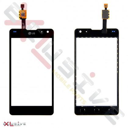 Сенсор (тачскрин) LG E970 Optimus G Black - ukr-mobil.com