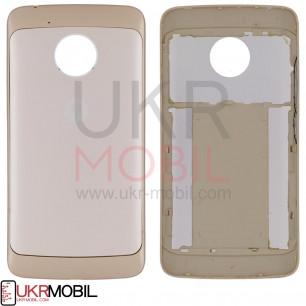 Задняя крышка Motorola XT1676 Moto G5, Gold