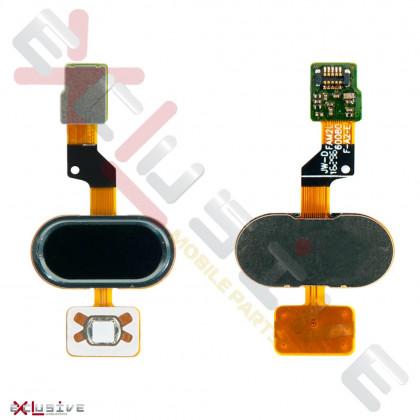 Шлейф Meizu M3s Y685, с кнопкой Home, Black, Original - ukr-mobil.com