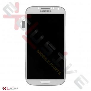 Дисплей Samsung I9500 / I9505 Galaxy S4 с тачскрином, универсальной рамкой White TFT
