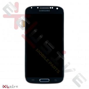 Дисплей Samsung I9500 / I9505 Galaxy S4 с тачскрином, универсальной рамкой Blue TFT