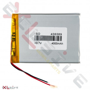 Аккумулятор для планшета 4.0*65*89мм / 4000 mAh