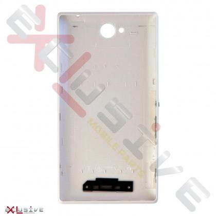 Корпус Sony C2305 Xperia C White (задняя крышка), фото № 2 - ukr-mobil.com