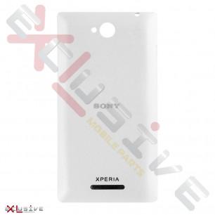 Корпус Sony C2305 Xperia C White (задняя крышка)