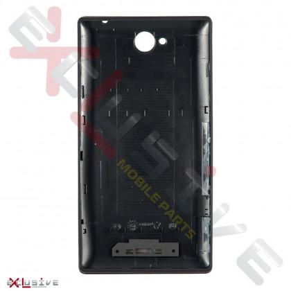 Корпус Sony C2305 Xperia C Black (задняя крышка), фото № 2 - ukr-mobil.com