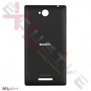 Корпус Sony C2305 Xperia C Black (задняя крышка)