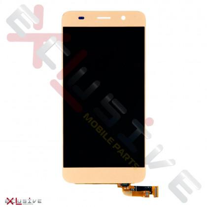 Дисплей Huawei Ascend Y6 с тачскрином, Gold, фото № 1 - ukr-mobil.com