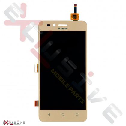 Дисплей Huawei Y3 II (4G, LTE version) (LUA-L21), с тачскрином Gold, фото № 1 - ukr-mobil.com