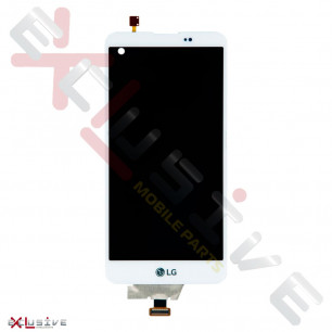 Дисплей LG K500n, K500DS, X Screen, X View с тачскрином, White