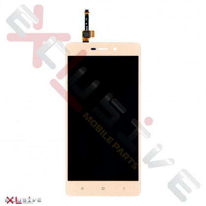 Дисплей Xiaomi Redmi 3, Redmi 3S, Redmi 3X, Redmi 3 Pro, с тачскрином, Gold, фото № 1 - ukr-mobil.com