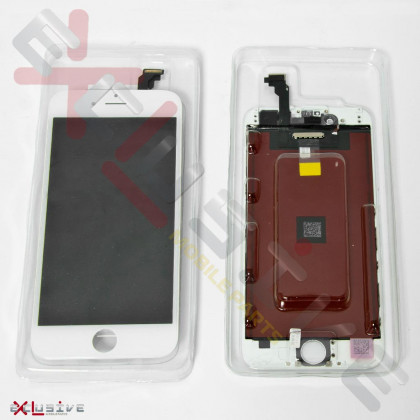Дисплей Apple iPhone 6, с тачскрином, Original PRC, White, фото № 1 - ukr-mobil.com