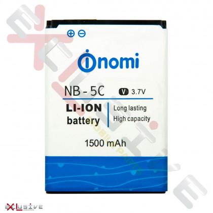 Акумулятор Nomi I180, I181, I182 NB-5C, NB-177 (1500mAh), фото № 1 - ukr-mobil.com