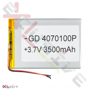 Аккумулятор для планшета 4.0*70*100 мм / 3500 mAh