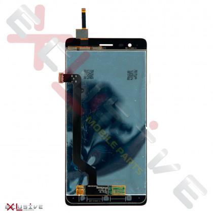 Дисплей Lenovo A7020 Vibe K5 Note, с тачскрином, Gold, фото № 2 - ukr-mobil.com