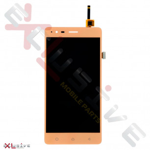Дисплей Lenovo A7020 Vibe K5 Note, с тачскрином, Gold