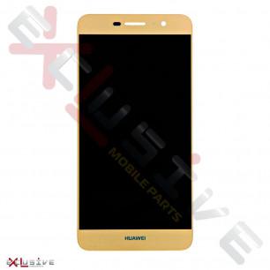 Дисплей Huawei Y6 Pro (TIT-U02, TIT-AL00), Honor 4C Pro (TIT-L01), Honor Play 5X, Enjoy 5, с тачскрином, High Copy, Gold