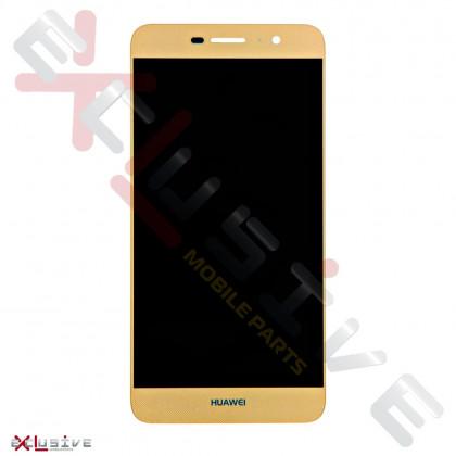 Дисплей Huawei Y6 Pro (TIT-U02, TIT-AL00), Honor 4C Pro (TIT-L01), Honor Play 5X, Enjoy 5, с тачскрином, High Copy, Gold, фото № 1 - ukr-mobil.com