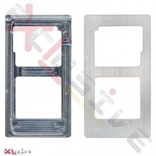 Позиционная форма дисплея при склейке Samsung Galaxy J2 J200 (алюминиевый)