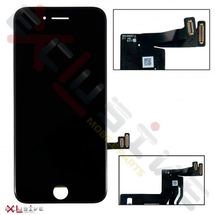 Дисплей Apple iPhone 7, с тачскрином, Original PRC, Black, фото № 1 - ukr-mobil.com