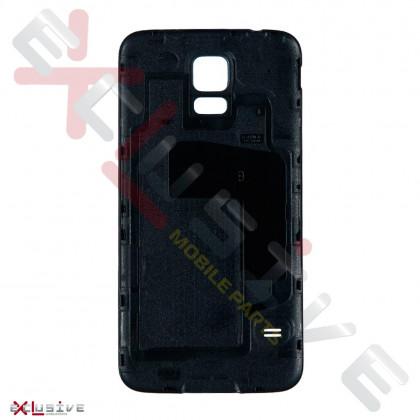 Корпус HIGH COPY Samsung G900 Galaxy S5 Black (задняя крышка), фото № 2 - ukr-mobil.com