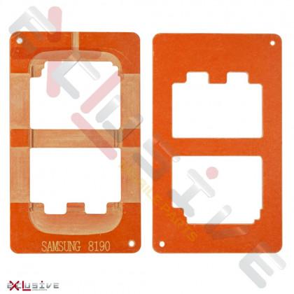 Позиционная форма дисплея при склейке Samsung I8190 - ukr-mobil.com